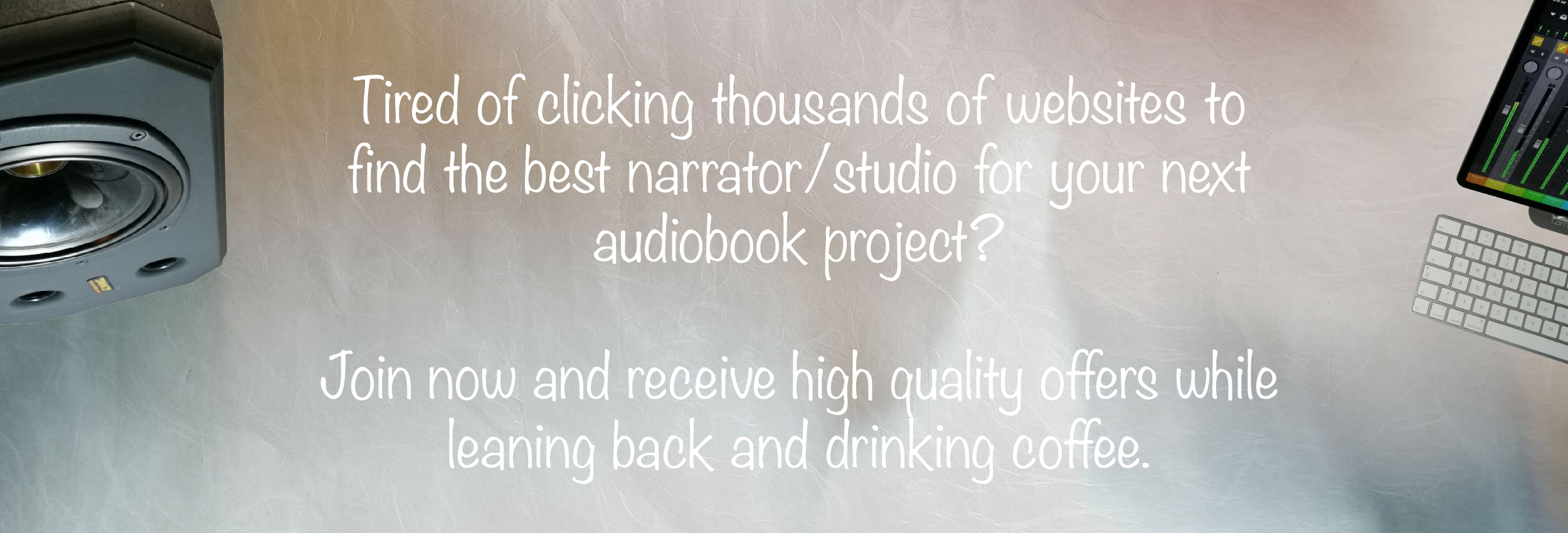 All Around Audiobooks - Slider Image